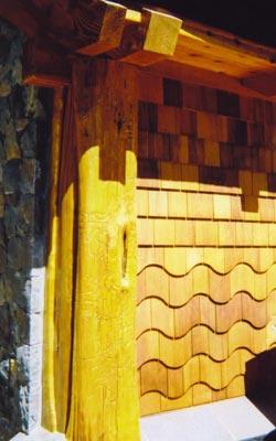 Geronimo Pole Co Hand Peeled Log Trim And Siding